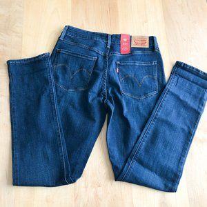 NWT Levi's Mid Rise Skinny Jean Medium Wash Size 6